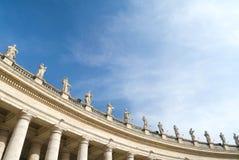 Квадрат St Peters, Рим стоковое фото