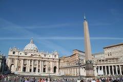 Квадрат StPeter в Ватикане Стоковое Изображение RF