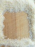 Квадрат Suji на деревянной предпосылке Стоковая Фотография
