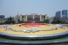 Квадрат tianfu Чэнду стоковое изображение rf
