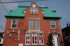 Квебек, почтамт в городе Montmagny стоковое изображение