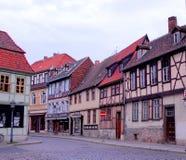 Кведлинбург, Германия Стоковая Фотография RF