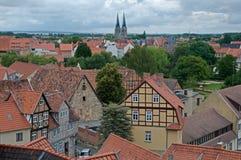 Кведлинбург, Германия Стоковые Изображения RF