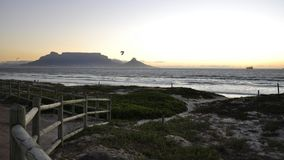 Кейптаун, гора таблицы, Южная Африка Стоковая Фотография RF