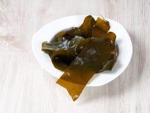 Келп Kombu - водоросль Kombu стоковая фотография rf