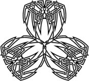 Кельтская картина узла Стоковые Фотографии RF