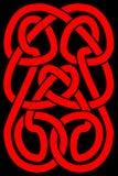 кельтская панель узла Стоковые Фото