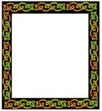 кельтская рамка Стоковые Изображения