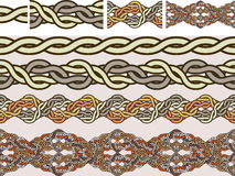 кельтские национальные орнаменты Стоковые Изображения RF