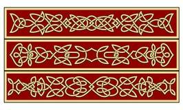 кельтские орнаменты иллюстрация вектора