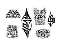 кельтский вектор tatoo Стоковое фото RF