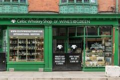Кельтский винный магазин вискиа в Дублине, Ирландии Стоковые Изображения RF