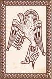 Кельтский зоологический национальный чертеж Стоковая Фотография