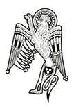 Кельтский зоологический национальный чертеж Стоковое Изображение RF