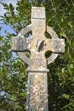 кельтский крест Ирландия Стоковые Изображения