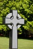 кельтский крест стилизованный Стоковое фото RF