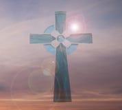 кельтский крест Стоковое Изображение