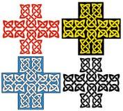 кельтский крест иллюстрация вектора
