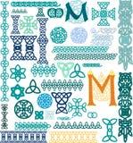 кельтский орнамент Стоковое Фото