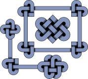кельтский орнамент Стоковое Изображение RF