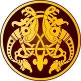 кельтский орнамент Стоковые Фотографии RF