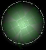 кельтский shamrock узла Стоковая Фотография RF