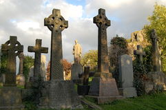кельтское кладбище Стоковые Изображения RF