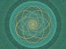 кельтское колесо Стоковое фото RF