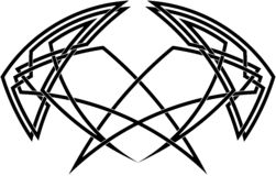 Кельтское украшение узла Стоковое Изображение