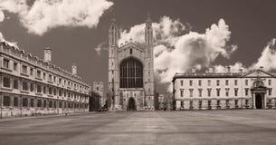 Кембриджский университет Стоковые Изображения RF