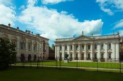 Кембриджский университет, сенат, здание, Англия, Великобритания Стоковые Изображения
