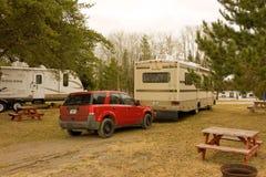 Кемпинг в северном Онтарио стоковая фотография rf