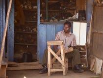 Кенийский обувной магазин Стоковые Изображения RF