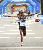 Кенийский спортсмен Леонард Kipkoech Langat Стоковые Изображения RF