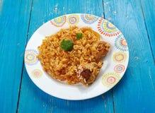 Кенийское biryani цыпленка Стоковая Фотография