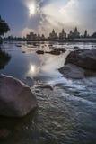 Кенотафы Orchha - Madhya Pradesh - Индия стоковое фото rf