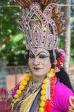 КЕРАЛА, ИНДИЯ - 17-ое января: Фестиваль виска Pooram на января, Стоковые Фото