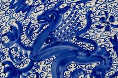 Керамика Китай дракона стоковая фотография rf