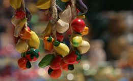 керамика цветастый французский riviera стоковая фотография rf