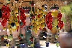 керамика цветастый французский riviera стоковые изображения