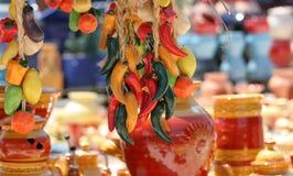 керамика цветастый французский riviera стоковые фотографии rf