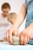 Керамика для детей Стоковая Фотография