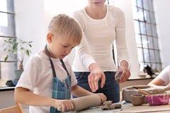 Керамика для детей Стоковое фото RF