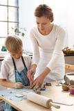 Керамика для детей Стоковые Фотографии RF