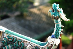 керамическая головка дракона Стоковые Фото