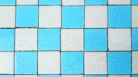 Керамическая голубая и белая картина Стоковое фото RF
