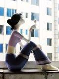 керамическая девушка подарка немногая Стоковые Изображения