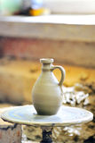 керамическая делая ваза Стоковое Изображение