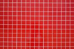 керамическая красная плитка стоковое фото