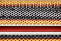 керамическая крыша тайская Стоковое Изображение RF